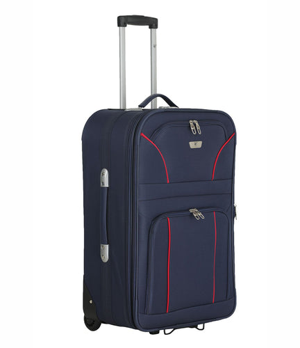 Verage Classico  Polyester Blue Soft Luggage Bags