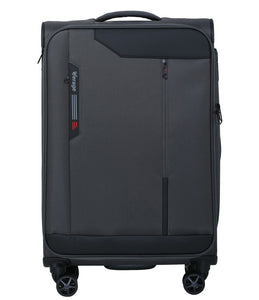Verage Cambridge Polyester Dark Grey Soft Luggage Bags