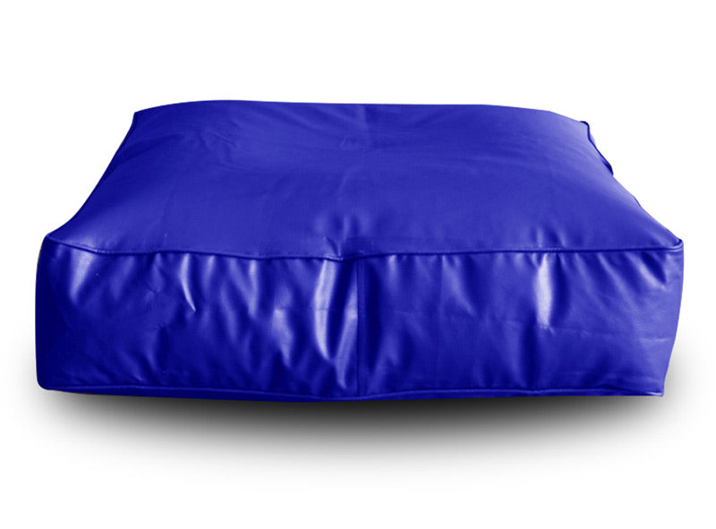 Blue XL Floor Cushion Square (Bean Bag)