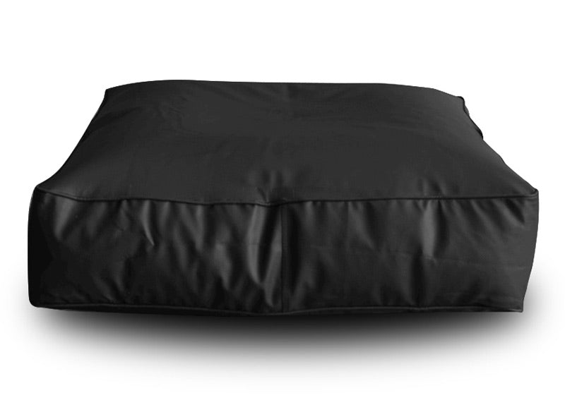Black XL Floor Cushion Square (Bean Bag)