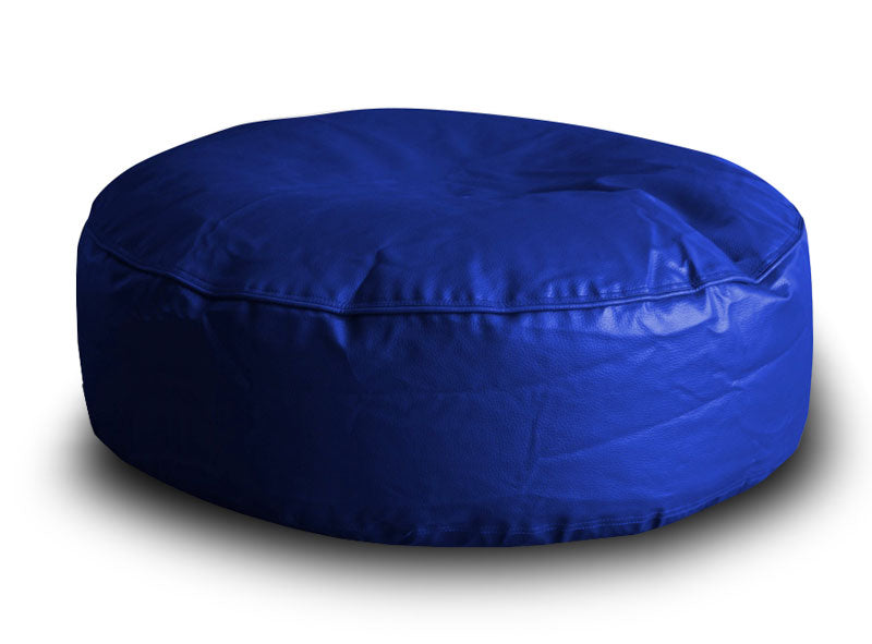 Blue XL Floor Cushion Cover Without Fillers (Bean Bag)
