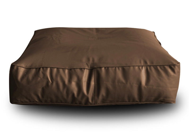 Chocolate Brown XL Floor Cushion Cover Without Fillers (Bean Bag)