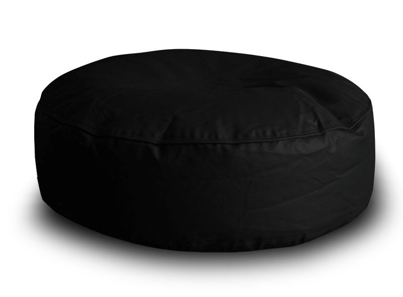 Black XL Round Floor Cushion (Bean Bag)
