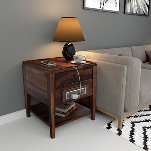 Classic Recharge Side Table with 1000 Days Warranty