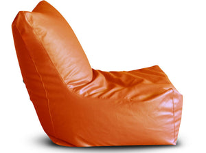 Orange XXXL Bean Bag Chair Cover Without Fillers (Bean Bag)
