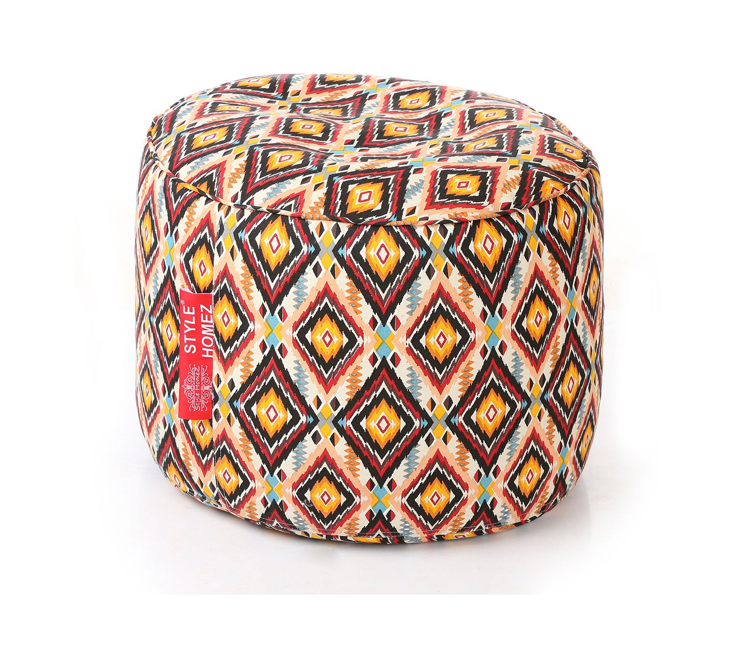 Surprising Brown Large Ottoman Bean Bag Cover Without Fillers Ottoman Theyellowbook Wood Chair Design Ideas Theyellowbookinfo