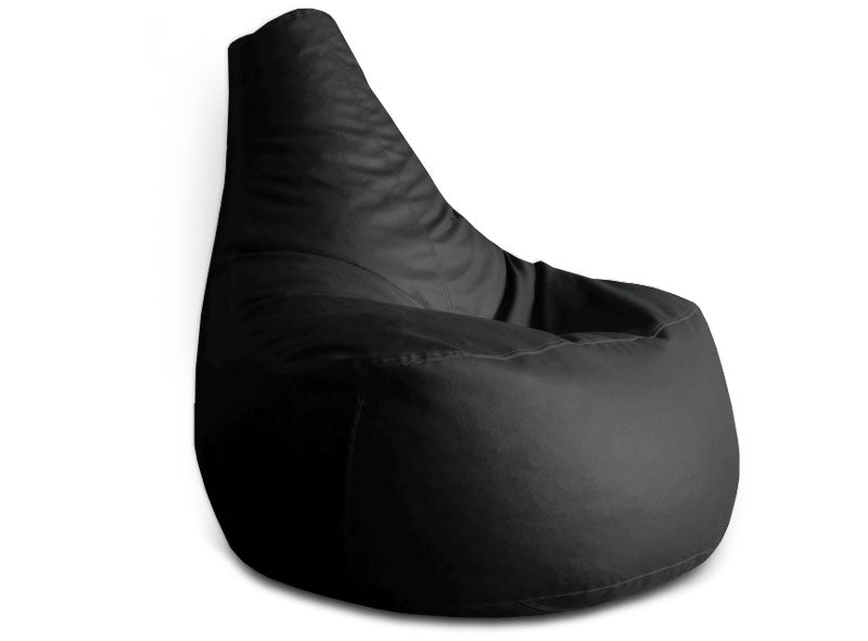 Black XXL Gamer Bean Chair (Bean Bag)