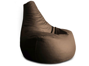 Chocolate Brown XXL Gamer Chair Bean Bag Cover Without Fillers (Bean Bag)