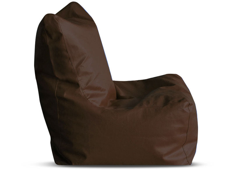 Chocolate Brown XL Bean Bag Chair Cover Without Fillers (Bean Bag)