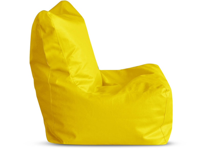 Yellow XL Bean Bag Chair Cover Without Fillers (Bean Bag)