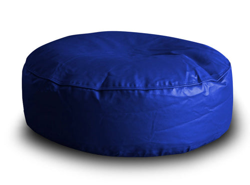 Blue XL Round Floor Cushion (Bean Bag)