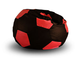 Brown and Red XXL Football Bean Bag (Bean Bag)
