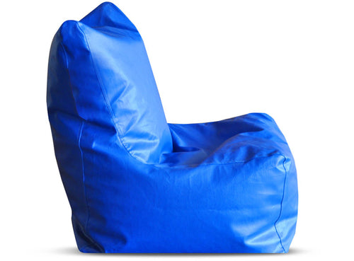 Royal Blue XL Bean Bag Chair Cover Without Fillers (Bean Bag)