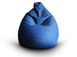 Blue XXL Denim Bean Bag (Bean Bag)