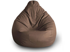 Chocolate Brown XXL Classic Bean Bag Cover Without Fillers (Bean Bag)
