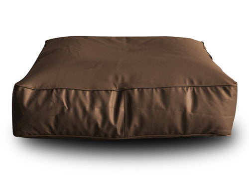 Chocolate Brown XL Floor Cushion Square (Bean Bag)
