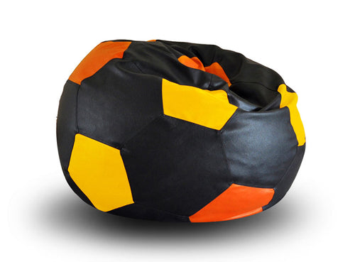 Black XXL Football Bean Bag (Bean Bag)