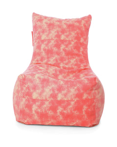 Red XXL Chair Bean Bag Cover Without Fillers (Bean Bag)