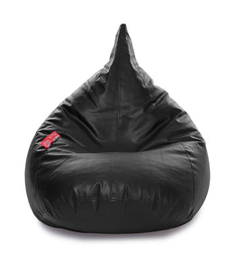 Black XL Humbug Bean Bag Cover Without Fillers (Bean Bag)