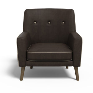 Stoa Paris Soulful Recharge Lounge Chair Brown With 1000 Days Warranty