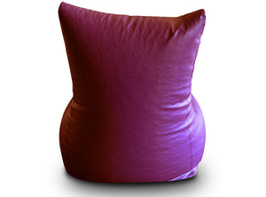 Maroon XXXL Bean Bag Chair Cover Without Fillers (Bean Bag)