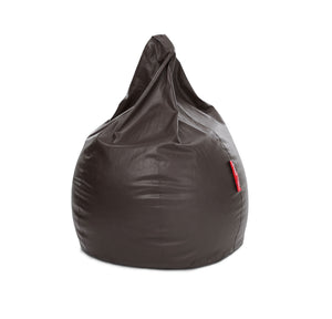 Chocolate Brown XXXL Classic Bean Bag Cover Without Fillers (Bean Bag)
