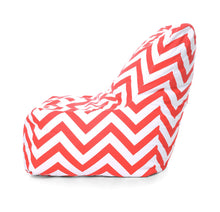 Multi Colour XXL Chair Stripes Printed Bean Bag With Fillers (Bean Bag)