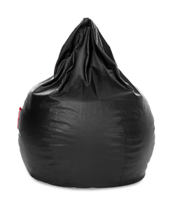 Black XXXL Sac Bean Bag Cover Without Fillers (Bean Bag)
