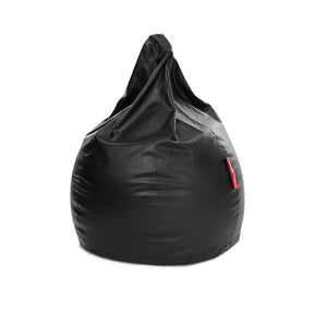 Black XXXL Classic Bean Bag With Fillers (Bean Bag)