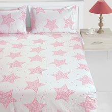 Swayam 200TC Abstract Print Cotton Bedlinen