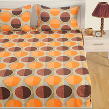 Swayam 160 TC Geometrical Print Cotton Bedlinen