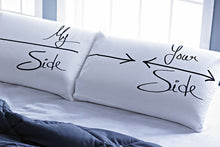 Stoa Paris My Side Your Side Pillow Talk King Bedsheet Set