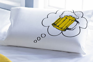 Stoa Paris I Dream Of Beer Pillow Talk Bedlinen