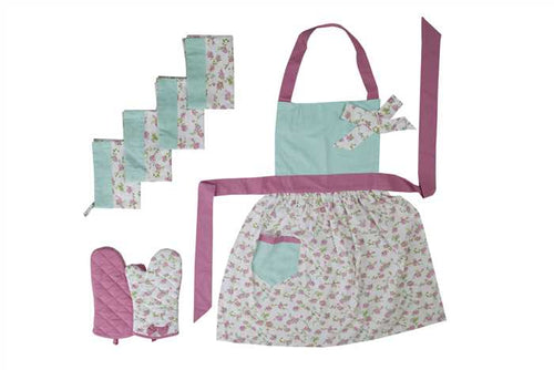 Bliss Printed Kitchen Oven Glove Set