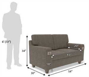 Recharge Sofa with 1000 Days Warranty