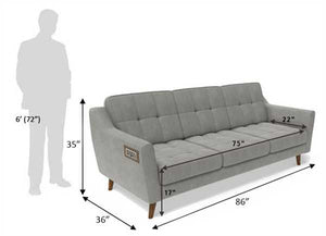 Low Arm Recharge Sofa with 1000 Day Warranty