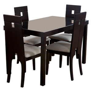 4 Chairs Dining Set