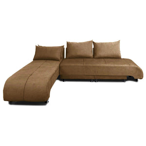Optimus Fabric Sectional Sofa Bed