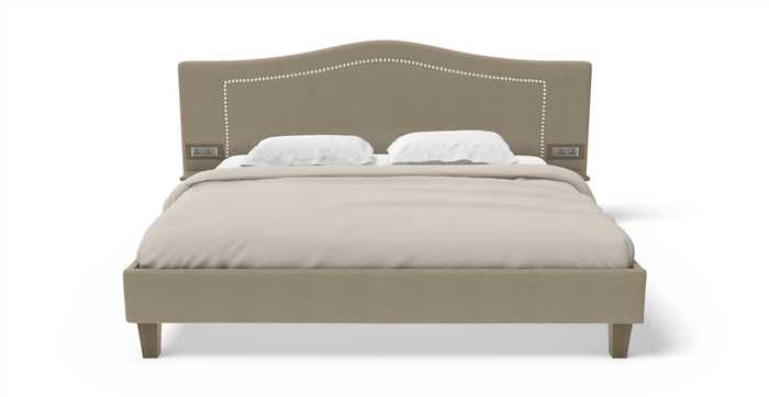 Recharge Bed with 6 Inches Mattress and 1000 Day Warranty