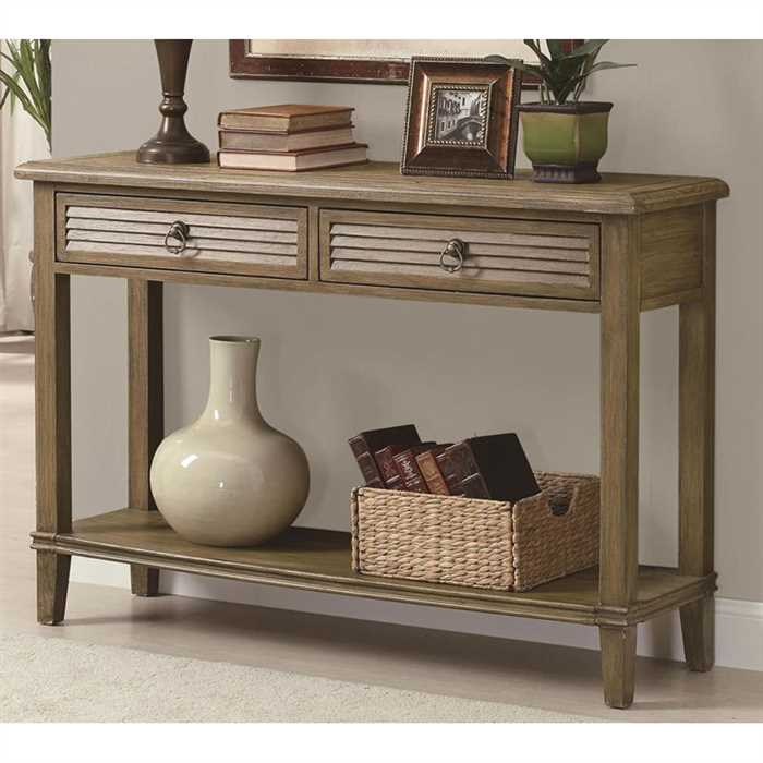 Dolly Console Table In Sheesham Wood