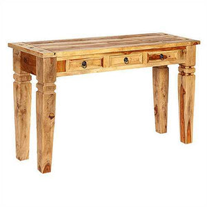 Helen Console Table In Sheesham Wood
