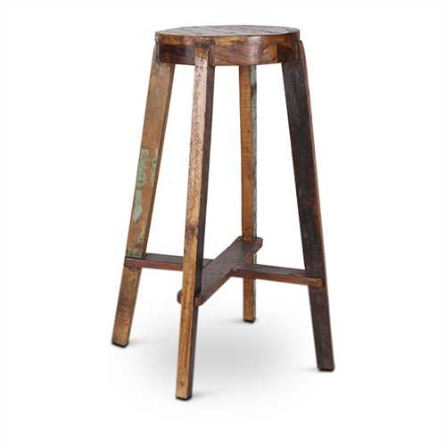 Lissa  Bar Stool In Solid Wood