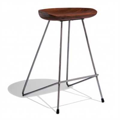 Pedro Bar Stool In Sheesham Wood