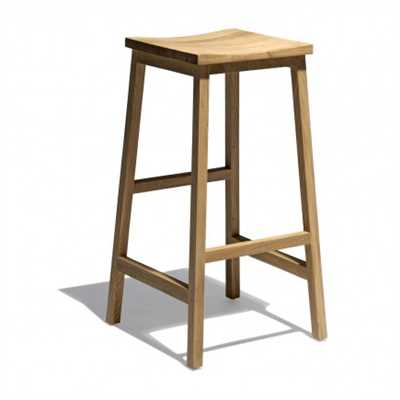 Glen Bar Stool In Solid Wood