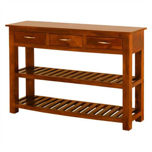 Linda Console Table In Rich Mango Wood
