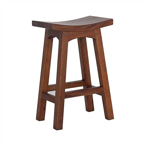 Chucky Stool Medium In Sheesham Wood