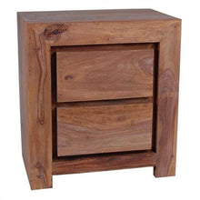 Mariah Bed Side Table In Sheesham Wood