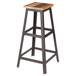Rory Bar Stool In Solid Wood