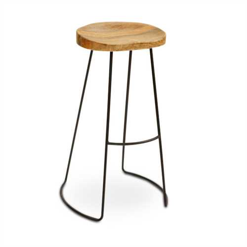 Arnold Bar Stool In Teak Wood