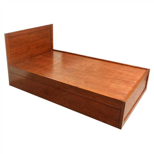 Grimmie Single Bed In Mango Wood And Plywood